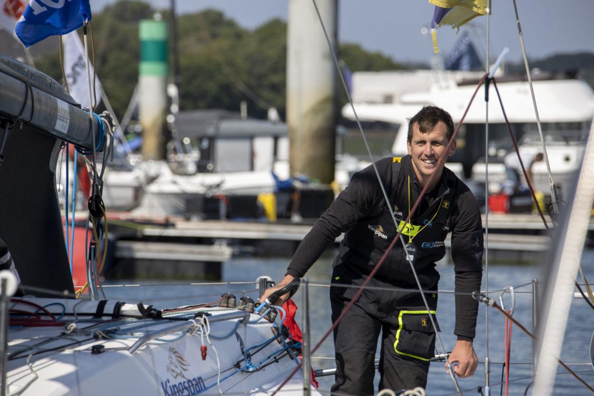 Tom Dolan in Lorient